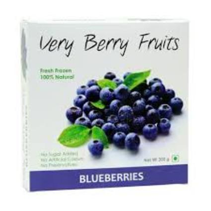 VERY BERRY FRUITS BLUEBERRIES 200G