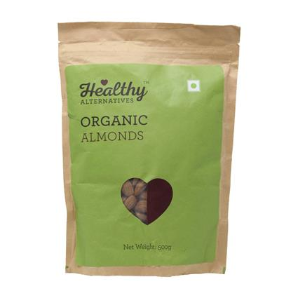 HA ORGANIC ALMOND 500GM
