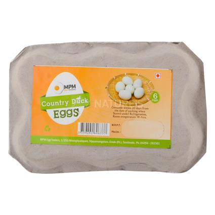 Country Duck Egg  -  Pack Of 6 - MPM Eggs Traders