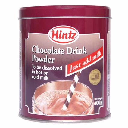 HINTZ CHOC POWDER 400G
