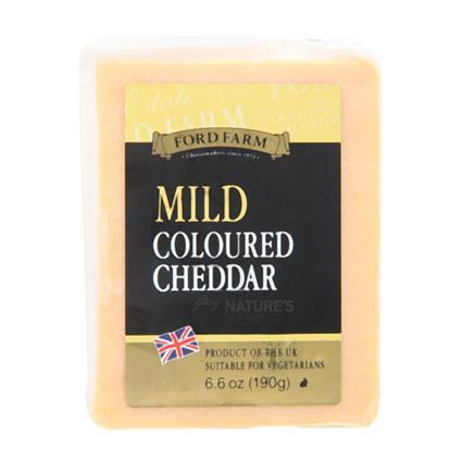 Mild Coloured Cheese - Ford Farm