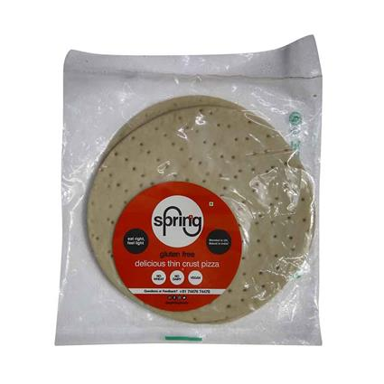 SPRINNG PLAIN PIZZA BASE GLUTEN FREE 160GM