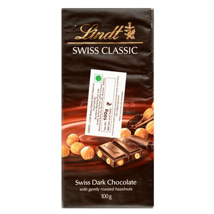 Dark Chocolate With Roasted Hazelnuts - Lindt