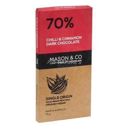 Chilli & Cinnamon Dark Chocolate - Mason & Co