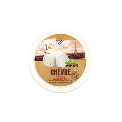 RRO CHEVRE CHEESE BLACK PEPPER 100G