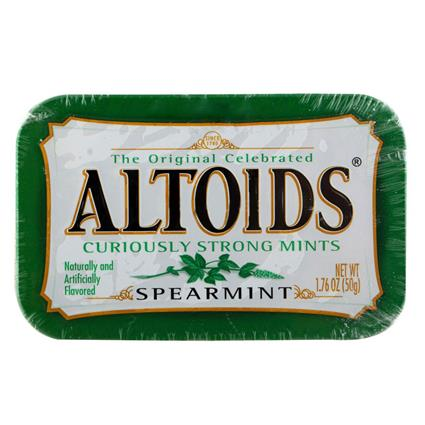 Spearmint Mints - Altoids