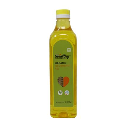 COLD PRESSED GROUNDNUT OIL - Healthy Alternatives