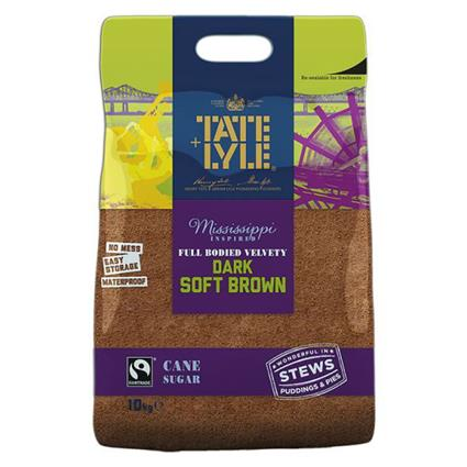TATE&LYLE DARK BROWN SOFT SUGAR 500G
