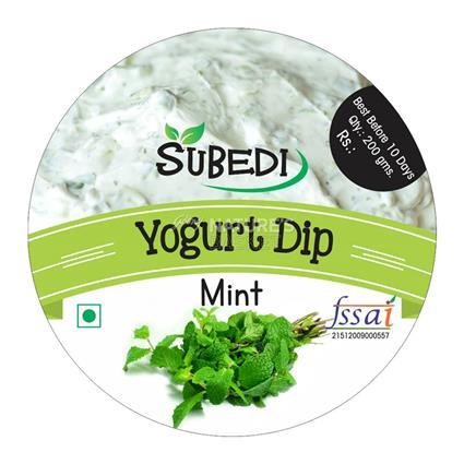 Mint Yogurt Dip - Subedi