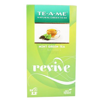 Revive Mint Green Tea  -  25 TB - TE-A-ME