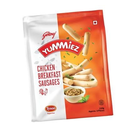 Chicken Breakfast Sausages - Yummiez