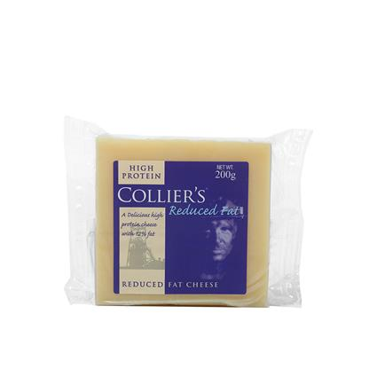COLLIERS REDUCED FAT CHEESE 200G