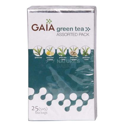 Green Tea Assorted Pack  -  25 TB - Gaia
