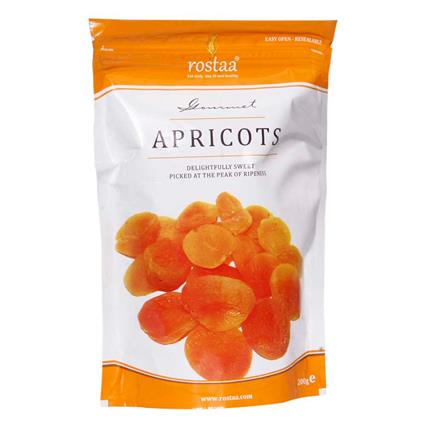 ROSTAA STANDY POUCH GOLDEN APRICOTS 200G