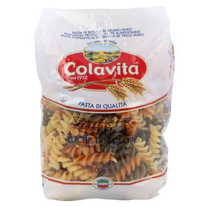 Eliche Tricolore Pasta - Colavita