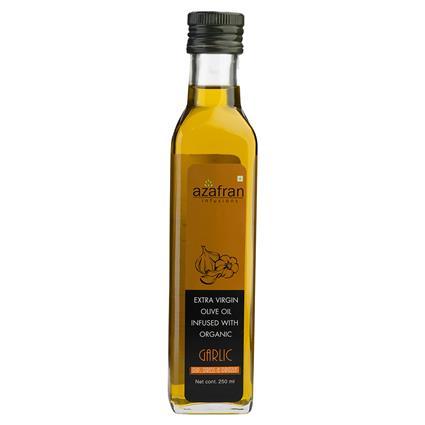 AZAFRAN GARLIC XTRA VIRGIN O/OIL 250ML