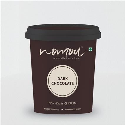 NOMOU DARK CHOCOLATE 500 ML TUB