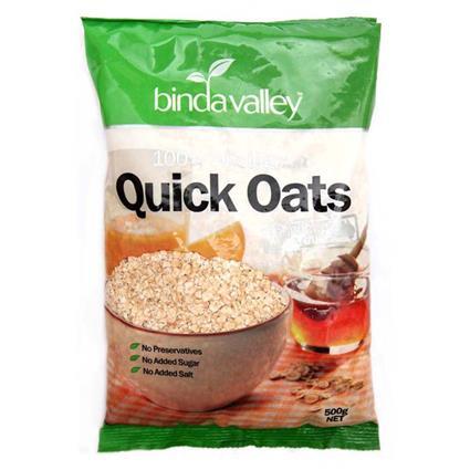 Wholegrain Quick Oats - Binda Valley