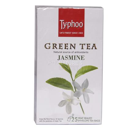Green Tea Lemon Jasmine  -  25 TB - Typhoo