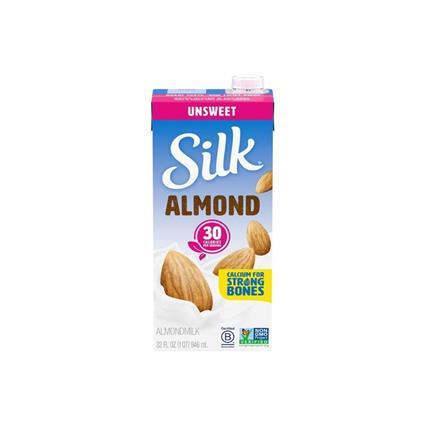 SILK ALMOND UNSWEETENED SOYMILK 946Ml