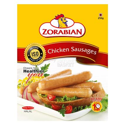 ZORABIAN CHICKEN SAUSAGES 250G