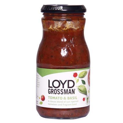 LOYD GROSSMAN TMTO&BSL SAUCE 350G