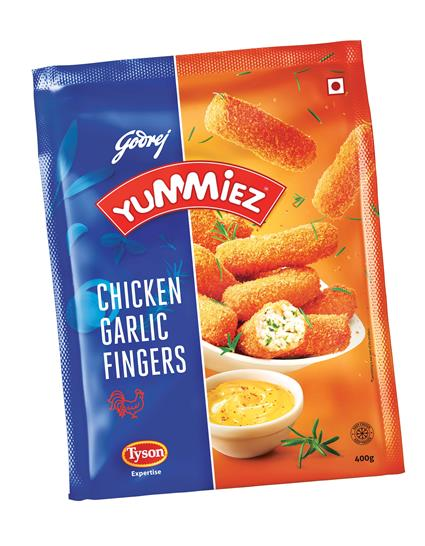 Chicken Garlic Fingers - Yummiez