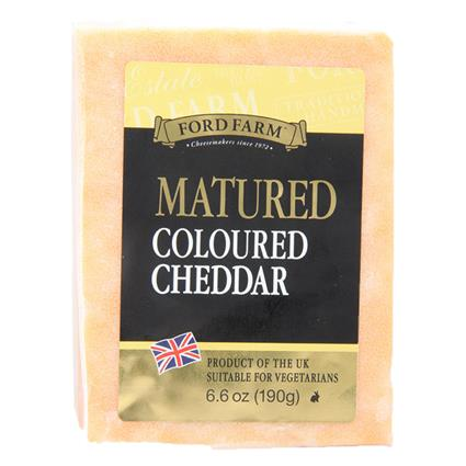 Matured Cheddar Cheese - Ford Farm