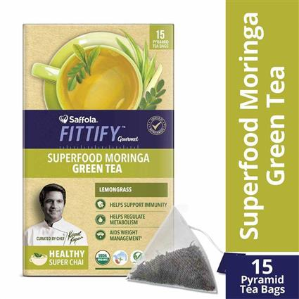 FITTIFY MORINGA GREEN TEA LEMNGRS 37.5GM