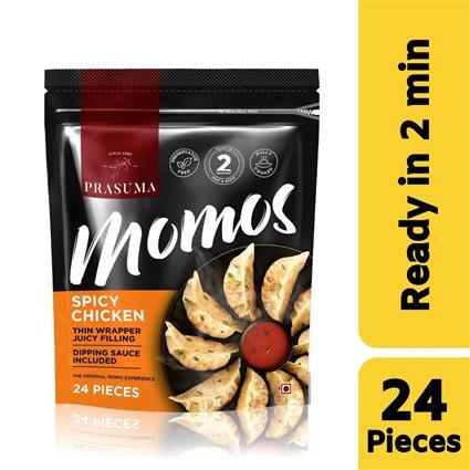 PRASUMA MOMOS SPICY CHK 24 PC