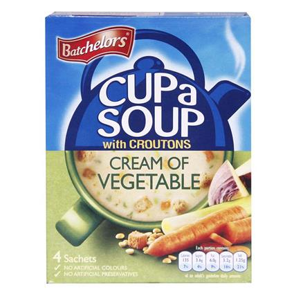 Cup A Soup W/ Croutons Cream Of Vegetable - Batchelors