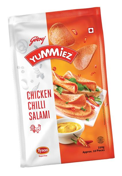 Salami Chicken  -  Chili - Yummiez