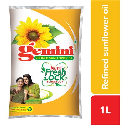 GEMINI PURE SUNFLOWER OIL PP 1Ltr