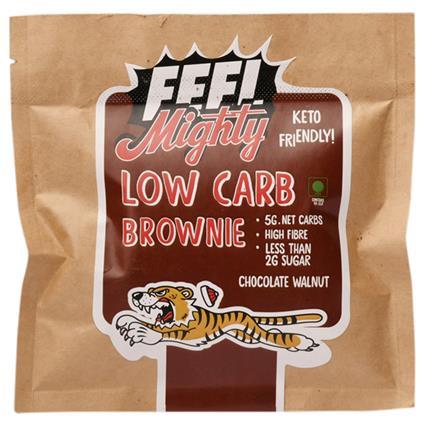 Low Carb Brownie Chocolate Walnut - Feel Mighty