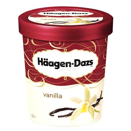 HAAGEN-DAZS VANILLA ICE CREAM 473ml