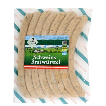 Schweins-Bratwurstel - Greisinger