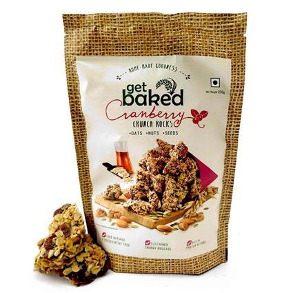 Crunch Rocks Cranberry Oat Clusters - Get Baked