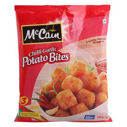 Chilli Garlic Potato Bites - Mccain