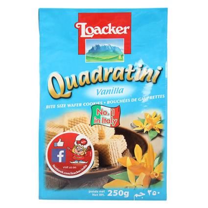 Quadratini Vanilla Wafer - Loacker