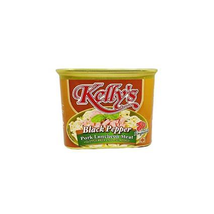 KELLYS LUNCHEON MEAT BLACK PEPPER 340G