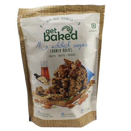 Crunch Rocks No Added Sugar Oat Clusters - Get Baked
