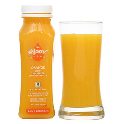Orange W/ Goji Berry & Sunflower Seeds Juice - The Rejoov
