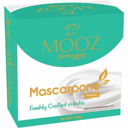 MOOZ MASCARPONE CREAM CHEESE 150G