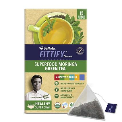 Moringa Green Tea - SAFFOLA FITTIFY