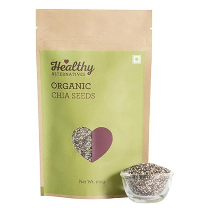 Organic Chia Seeds - Healthy Alternatives