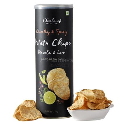 Potato Chips  -  Roasted Indian Masala - L'exclusif