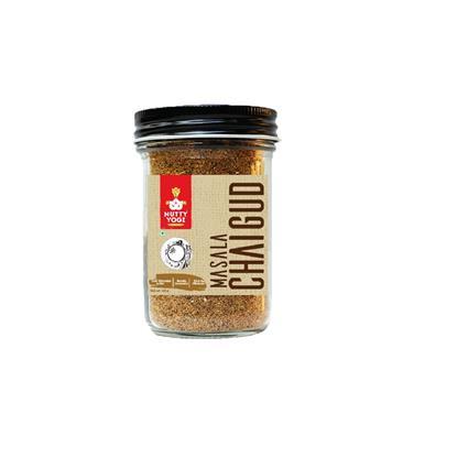 NUTTY YOGI MASALA CHAI GUD 125G