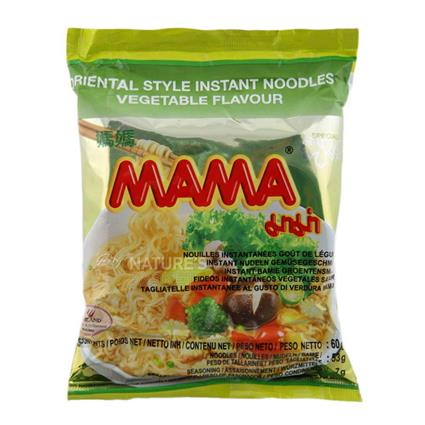 Oriental Style Instant Noodles  -  Vegetable Flavour - Mama