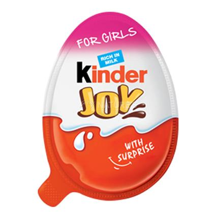 Kinder Joy For Girls - Kinder Joy