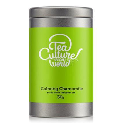 Tea Culture 50 Gram Metal Tea Tin
